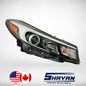 For 2017 2018 Kia Forte Headlight Halogen Lamp Right Hand Passenger Side New