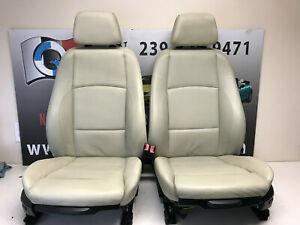 Bmw Leather Sport Seats Front Rear Door Panel Set E88 128i 135i Convertible