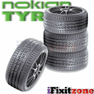4 Nokian Zline A S 245 40r18 97w Xl All Season Traction High Performance Tires