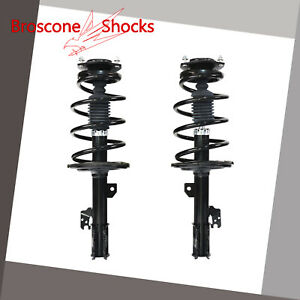 For 2007 2008 2009 2010 Toyota Sienna Front Pair Complete Shocks