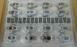 Elgin Ssr 840sprs Stainless Rocker Arms Sb Chevy 1 60 Ratio 3 8 Stud