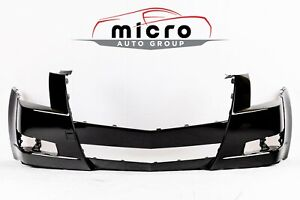New Painted Front Bumper Cover For 2008 2014 Cadillac Cts