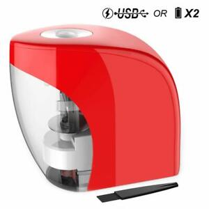 Electric Pencil Sharpener Automatic Sharpener For No 2 Pencils And Colored Pe