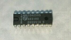 Tda2595 2 lot Philips Integrated Circuit ic Usa Seller Free Shipping