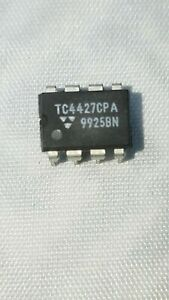 Tc4427cpa ic 5 lot Mosfet Driver 1 5a 2 out 8 pin Usa Stock Free Ship