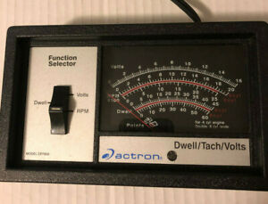 Actron Model Cp7605 Dwell Tachometer Voltmeter 12v Ignition System Tester
