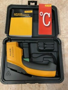 Fluke 68 Ir Infrared Thermometer W case Manual Laser Pointer Guide