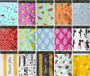 1 1000 10x13 Choose Favorite Boutique Designer Poly Mailer Bags Fast Shipping 60