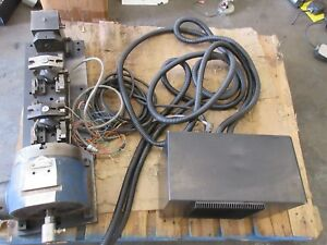 Nsk Brother Cnc Mill Vs200ras1 4th Axis Indexer Rotary Table Evs20c01 Trunnion