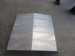 Cincinnati Lamb Cfv800 Cnc Vertical Mill Eke 33 X 40 Inch Way Cover Covers