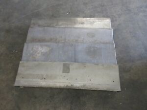 1996 Okuma Cadet V Cnc Vertical Mill 35 X 30 Inch Way Cover Covers