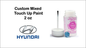 Custom Mixed Automotive Touch Up Paint 2oz For 2018 Hyundai Colors