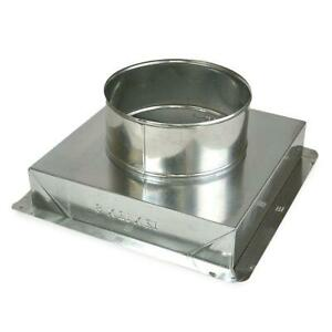 12 X 12 X 8 In Ceiling Register Box Galvanized steel Hvac Air Flow Duct Boot X6