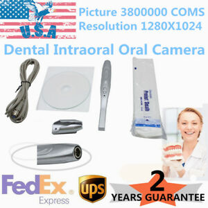 Pro Ccd Hd Dental Intraoral Oral Camera Usb 2 0 Intraoral System Usa Stock
