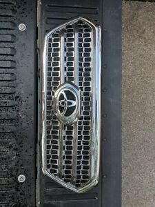 2016 2017 Toyota Tacoma Trd Sport Dark Chrome Grill With Bezel Oem