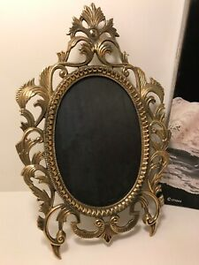 Victorian Picture Frame Crafted In Solid Brass 5 X 7