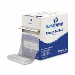 Quality Park Sealed Air Bubble Wrap In A Ready To Roll Dispenser Carton 12 In