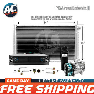 Ac Kit Universal Evaporator Underdash Unit Compressor And Condenser 14 X 24