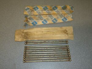 New Nos Oem Ford Engine Push Rod C4dz 6565 A Lot Of 10 170 200 6 Cylinder