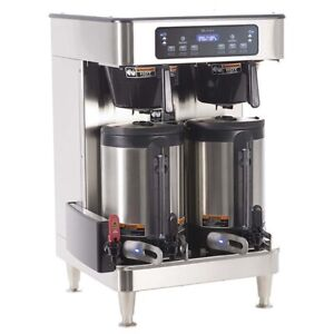 Bunn Icb Infusion Series Stainless Steel Twin Servers Commercial Coffee Brewer
