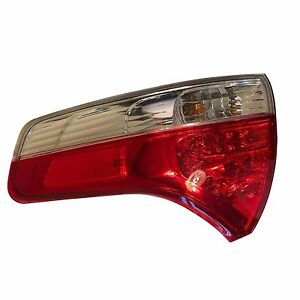 Toyota Sienna 11 14 Right Rear Outer Tail Light Lamp Genuine Oem le Xle Std