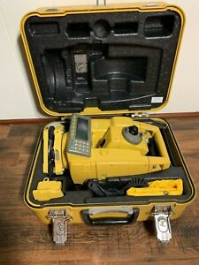 Topcon Gts 605 Conventional Survey Total Station Case Batteries Free Shipping