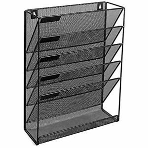 Vertical File Organizer For Home And Office Mail Holder Magazine Rack Storage