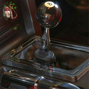Universal Black 8 Ball Billiard Car Manual Shift Knob Gear Stick Shifter Lever