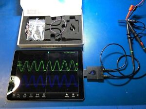 Oscium Imso 204l Portable Oscilloscope With 2 Analog Plus 4 Digital Channels