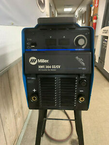 Miller Xmt 304 Cc cv Welder With S 22a Wire Feed Head Unit