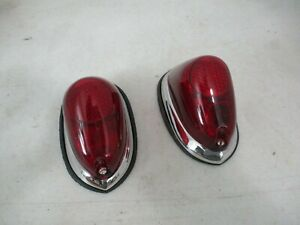 Nos Lucas L 549 Tail Lights Rolls Royce Bentley Jaguar Lagonda English Cars