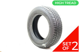 Set Of 2 Used 235 65r18 Michelin Defender Ltx Ms 106t 11 5 32