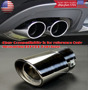 Oe Polished Stainless Steel Exhaust Muffler Tip For Toyota Scion 1 5 2 Pipe