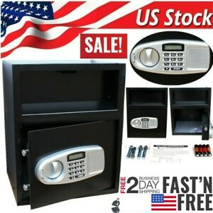Digital Electronic Safe Box Depository Money Jewelry Home Office Hotel Security