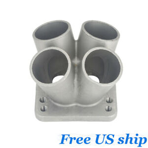 Cast Stainless Steel 4 1 Turbo Header Manifold Merge Collector T3 T4 Flange New