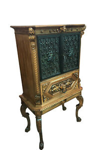 Decorative Vintage French Bar Or Liquor Cabinet 1930 40 S