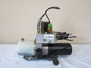 04 11 Saab 9 3 93 Convertible Top Lift Motor Pump Oem 12211070000 Dai1 105783