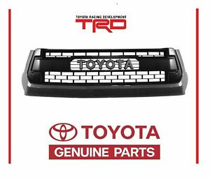 Genuine Toyota Tundra 2014 2017 Trd Pro Magnetic Gray 1g3 Grille Grill