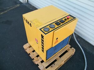 1996 Kaeser Sx6 5 Hp Rotary Screw Air Compressor Ingersoll Rand Quincy Sullair