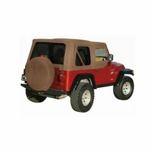 Soft Top Spice With Skins And Tinted Plastic Windows 99517 For Jeep Tj Wrangler