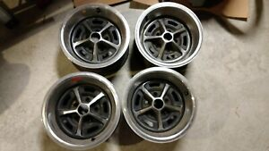 Rally Wheel Rim 14 X 7 Lz Like Ao Ya Style Chevelle Ss 442 Cutlass Supreme