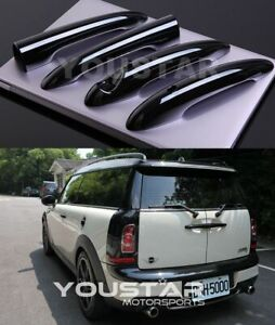 Usa Stock 4x Gloss Black Front Barn Door Handle Covers Mini Cooper R55 Clubman