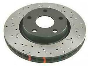 Dba 4000 Drilled Slotted Rear Rotors W Black Hat For 16 Ford Focus Rs
