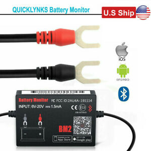 Usa Ship Ble Battery Monitor Ii Bm2 Bluetooth 4 0 Car 12v Battery Tester
