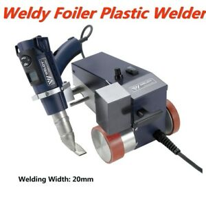 0 79 20mm Smart Hot Air Welder Leister Weldy Foiler Pvc Banner Welder