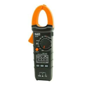 New Klein Tools 400 Amp Ac Auto ranging Digital Clamp Meter With Temp Cl210