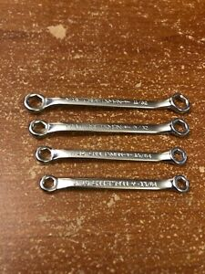 Vintage Craftsman Box End Ignition Wrench Set