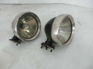 Vintage Lucas Side Fender Lights Rolls Royce Bentley Lagonda Aston Martin