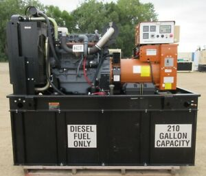 60 Kw Generac Deutz Diesel Generator Genset 255 Hours Load Bank Tested