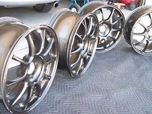 Rays Volk Racing Wheels Ze40 17x7 5 4x100 Offset 40 Forged Miata Set Of 4